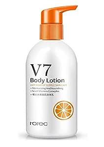 Rorec V7 Beauty Body Lotion Moisturizing Camp Improves Rough Skin Nourishing Exfoliating Body Care
