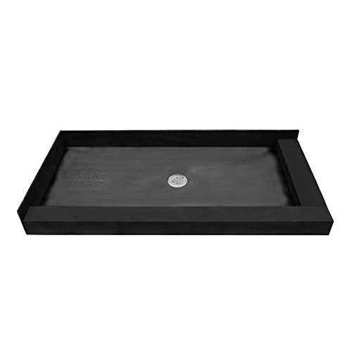 Tile Ready Double Curb Shower Pan
