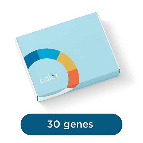 Color Test - Color - Genetic Risk Test for Health, 30 Genes, Includes BRCA1 and BRCA2 (Unavailable in NY State)