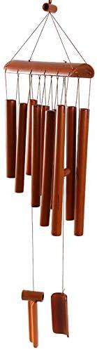 Whz-ZYF 画像の色手作り竹風チャイム中空トーン天然竹風チャイム屋内と屋外の装飾工芸 、耐久性