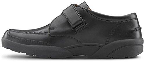 Dr. Comfort Frank Men's Therapeutic Diabetic Extra Depth Dress Shoe: Black 7 Wide (E/2E) Velcro by Dr. Comfort (Image #3)'