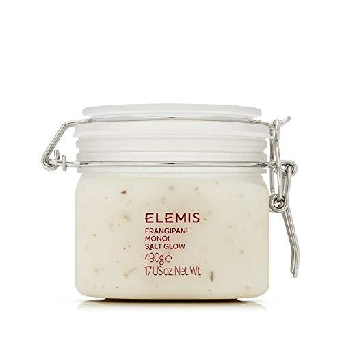 (ELEMIS Frangipani Monoi Salt Glow, Skin Softening Salt Body Scrub, 17.0 fl. oz.)