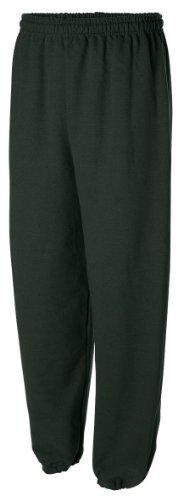 Gildan Activewear Men's Heavyweight Blend Sweatpants, XL, Forest