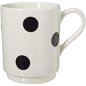 Kate Spade New York 856713 Deco Dot Mug, White