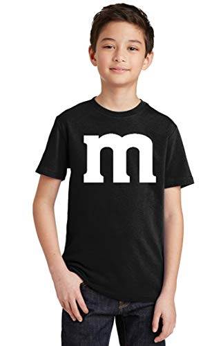 Promotion & Beyond M Halloween Team Costume Funny Party Youth T-Shirt, Youth XS, Black