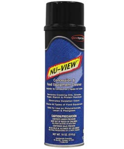 20301 NU-VIEW Concession & Food Equipment Cleaner, 6/Case (12 Cases) by NU-VIEW