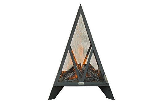 5′ Iron Embers Pyramid Outdoor Fireplace (5 feet tall)