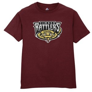 Minor League Wisconsin Timber Rattlers T-Shirt Style Jersey (Adult XX-Large)
