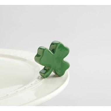 Nora Fleming Ceramic Mini Irish at Heart Shamrock for Platter