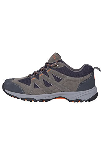 Laufsohle Warehouse im für All Frühling Gummi 100 Terrain Für Schuhe Herren flexibel Dunkelgrau leicht mit Wandern Netzfutter Sport Mountain Laufen Schuhe Bergwandern YwBqwS