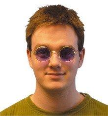 Purple Lennon Round - Uk Round Sunglasses