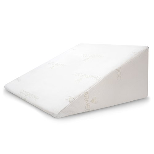 PharMeDoc-Bed-Wedge-Pillow-25-x-24-x-12-Orthopedic-Support-Pillow