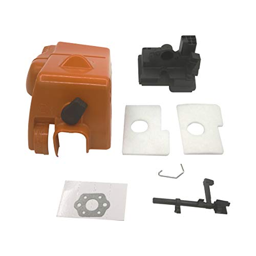 Engine Shroud Top Cylinder Air Filter Cover Switch Shaft Intake Housing for STIHL 017 018 MS170 MS180 Chainsaw