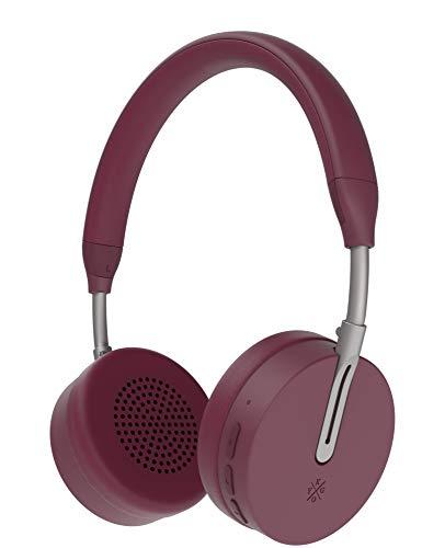 Kygo Life A6/500 | On-Ear Bluetooth Headphones, aptX and AAC Codecs, Built-in Microphone, NFC Pairing, Memory Foam Ear…