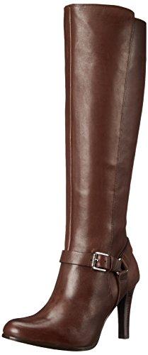 Lauren Ralph Lauren Women's Bria Boot - Dark Brown Burnis...