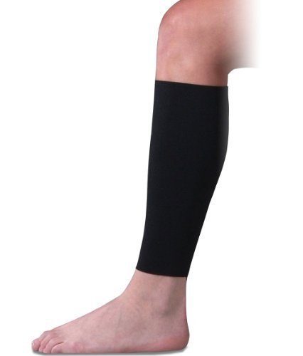 Compression Shin Sleeve for Shin Splints, Circulation and Travel, Medium by Brownmed