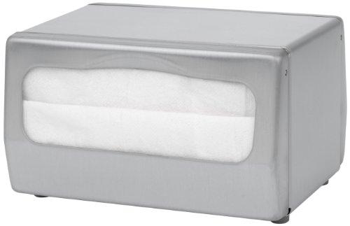 Fold Dispenser Napkin Full Tabletop - Palmer Fixture ND0065-13 Table Top Full Fold Napkin Dispenser