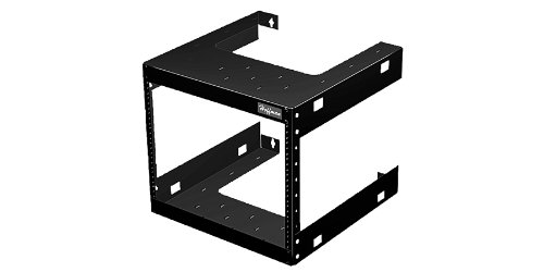 Hoffman Enclosures - E19FWM32U20 - Wallmount Rack Fixed 32u X 19' X 20'd Black by Hoffman Enclosures
