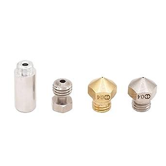 winsinn All Metal MK10 Hotend extrusora boquilla de acero ...