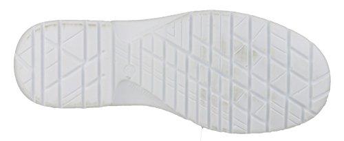 Amblers Safety - Calzado de protección para mujer Blanco - blanco