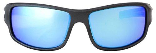 de Gris Gunmetal Azul de Lente Gafas Serie Arkana Polarizadas Marco HZ Hielo Sol Premium de Hornz Mate Espejo xz1AIqC