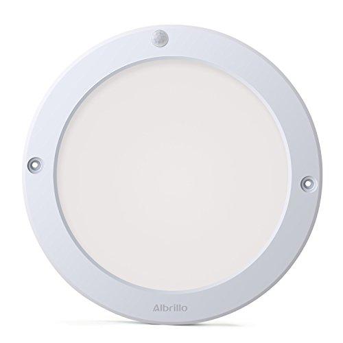 Albrillo Indoor Motion Sensor Light LED Ceiling Lights Flush Mount, for Kitchen Hallway Bathroom, 100 Watt Equivalent, 1200lm