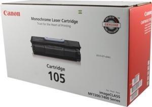105 Canon ImageCLASS MF7460 Toner 10000 Yield - Geniune Orginal OEM toner - Imageclass Mf7460 Laser