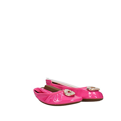 Fucsia Kelly Lelli LK4106 Pelle Kids Ballerine in AN01 Scarpe C66wqY