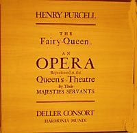 Henry Purcell: The Fairy Queen- An Opera Eepresented at the Queen's-Theatre