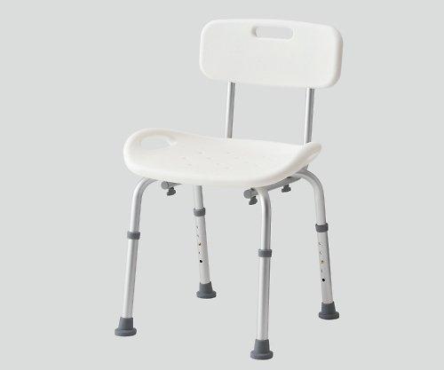 8-6824-02シャワー椅子背付き B07BDLTJRP