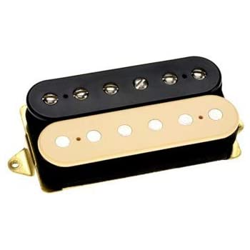 dimarzio dp155 tone zone humbucker pickup black and cream f space musical instruments. Black Bedroom Furniture Sets. Home Design Ideas