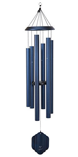 Bells of Vienna 57-inch Windchime, Midnight Blue
