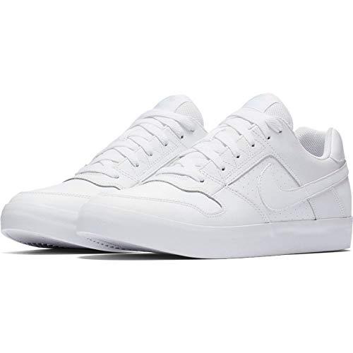 Nike Mens Nike SB Delta Force Vulc Black Black Italy Blue Size 7.5