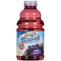 Gerber Graduates Fruit Splashers Grape Purified Water (Case of 6)