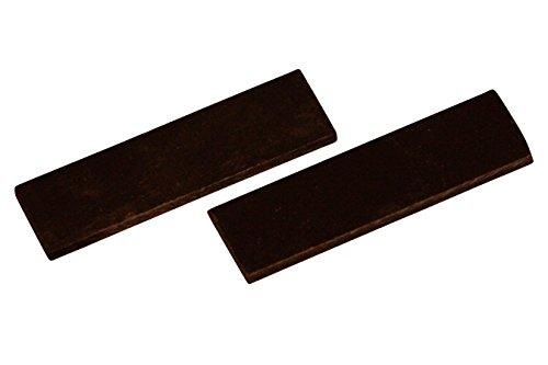 Micarta Nut/Bridge Pieces, Oversized by Folkcraft Laser