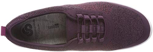37 Violet Step Allenabay Clarks Basses Noir Eu aubergine Femme Sneakers WYqHqUZc