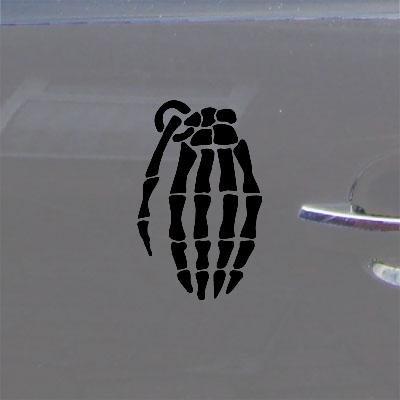 DECAL STICKER MACBOOK SNOWBOARD GLOVE LAPTOP BLACK DECOR ART ADHESIVE VINYL CAR GRENADE NOTEBOOK DIE CUT WINDOW BIKE WALL ART AUTO DECORATION