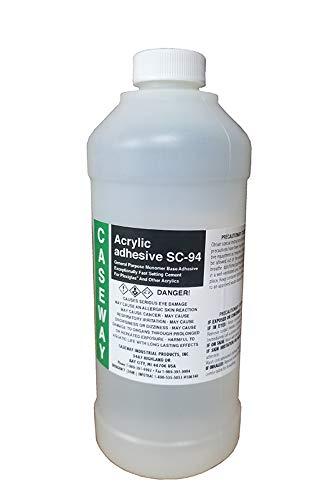 (Caseway SC-94 Acrylic Cement, Medium to Fast Set (Pint (16 oz.)))