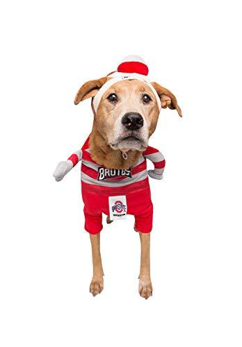 - Brutus The Buckeye Lucky Dog Pet Costume, X-Large