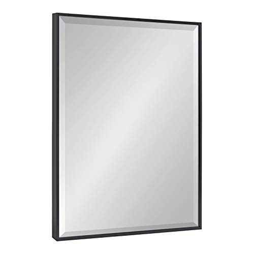 Kate and Laurel Rhodes Large Framed Decorative Rectangle Wall Mirror, 22.75x28.75, -