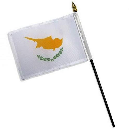 Kaputar 4x6 Cyprus Stick Flag Table STF Desk Table | Model FLG - 7667
