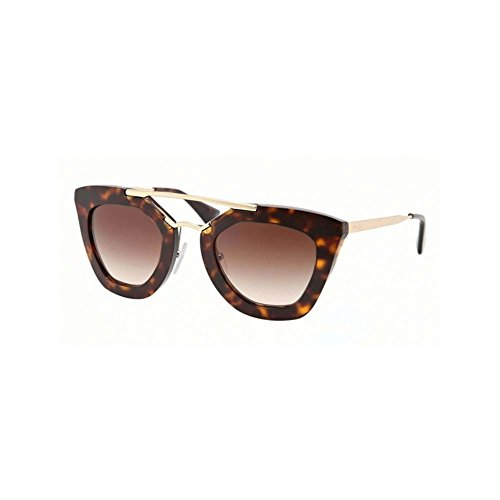 Prada Women's SPR09Q Cinema Sunglasses, Havana, - Prada Women Glasses