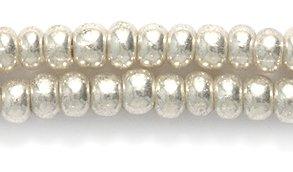 Preciosa Ornela Czech Seed Bead Size 6//0 Silver Wash