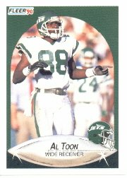 1990 Fleer #369 Al Toon - NM-MT