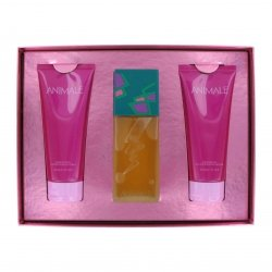 Animale Gift Set Eau de Parfum Spray 3.4 oz & Body Lotion 6.7 oz & Body Gel 6.7 oz 3 pcs Animale Animale Gift Set