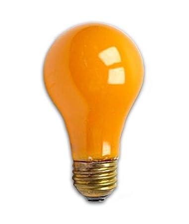 Bulbrite 106560 - 60A/CO - Orange 60 Watt A19 Colored Light Bulb