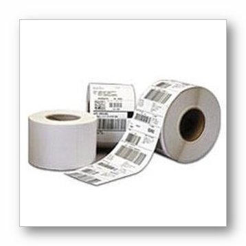 CognitiveTPG Thermal Transfer Vinyl Labels (2.4 in. x 1.0 in. - Gap-cut, Perforated - 1,685 Labels/Roll, 12 Rolls/Case) 03-02-1733