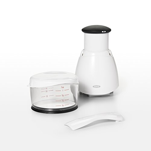 OXO 1057959 Dishwasher Safe Food Chopper, 1 EA White/Black