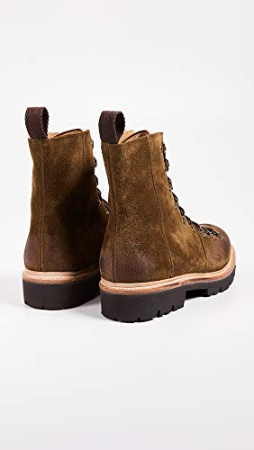 fiuto da Burnish Boot Burnish Tabacco Brady Ski Mens Grenson camoscio Snuff tfwq4nvWp