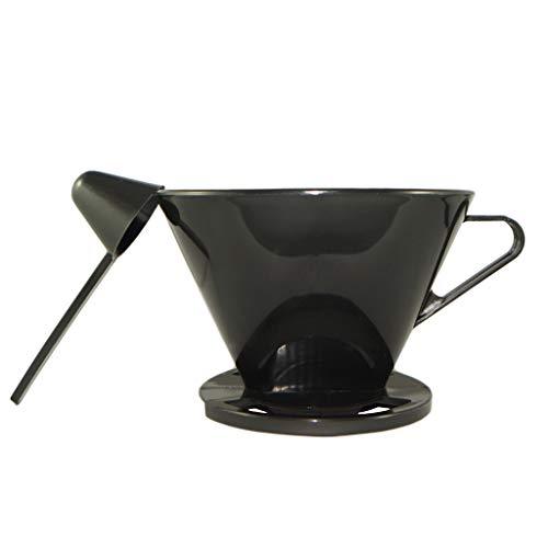 Doppio Plastic Pour Over Coffee Dripper With One Funnel Size #2